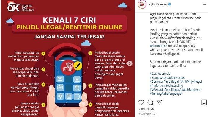 Jangan Sampai Terjebak,Kenali 7 Ciri Pinjaman Online Ilegal Alias Rentenir Online