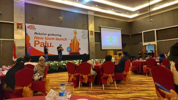 Kumpulkan Retailer di Palu, Jaringan 3 Indonesia Perketat Prokes