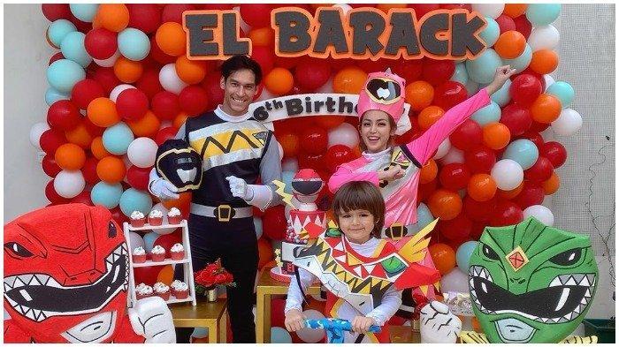 Richard Kyle Datang ke Acara Ulang Tahun Anak Jessica Iskandar, El Barack Alexander