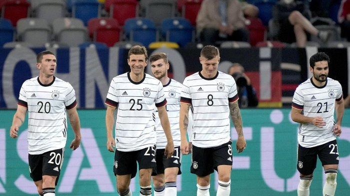 Sedang Berlangsung Live Streaming Portugal vs Jerman, Adu Tajam Ronaldo dan Gnarby