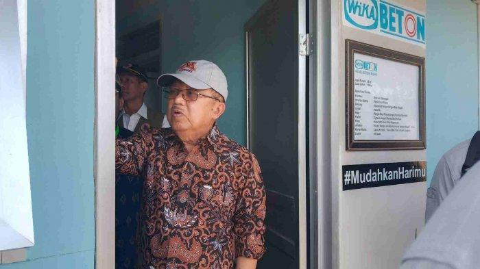Tiba di Kota Palu, Wapres Jusuf Kalla Pastikan Huntap di Kelurahan Duyu Siap Dibangun
