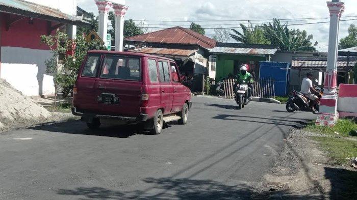 Simpang Jl Anoa I Palu Akhirnya Teraspal