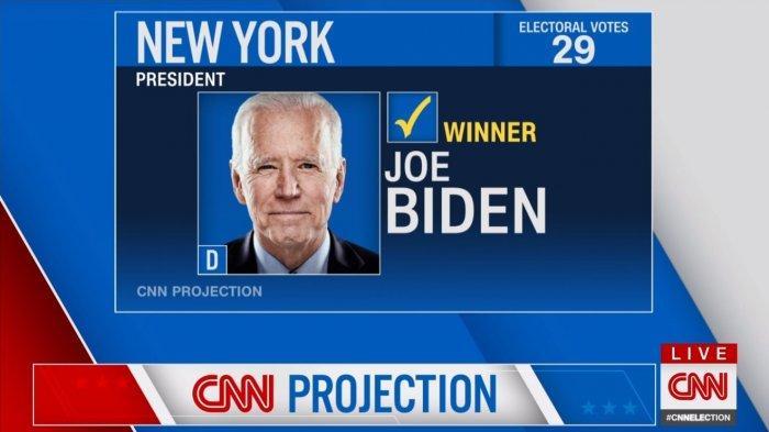 Joe Biden menangkan New York