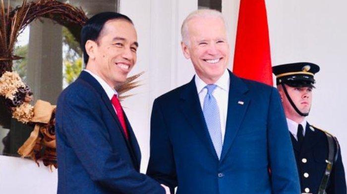 Joe Biden Menang Pilpres AS 2020, Presiden Joko Widodo Beri Ucapan Selamat untuk Presiden Terpilih