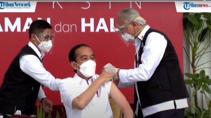 Pengakuan Dokter yang Suntikkan Vaksin Covid-19 ke Jokowi: Vaksinasi Kedua Lebih Tenang