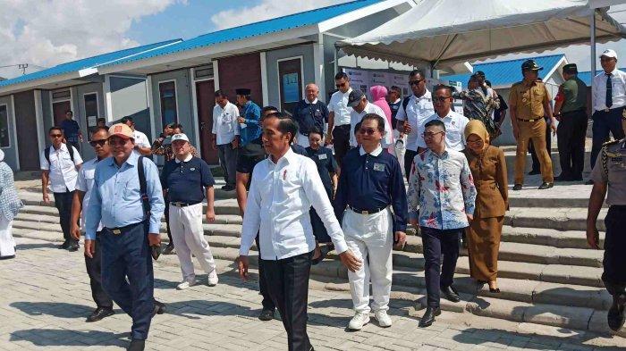 Presiden Joko Widodo Tinjau Pembangunan Hunian Tetap Penyintas Bencana di Kota Palu