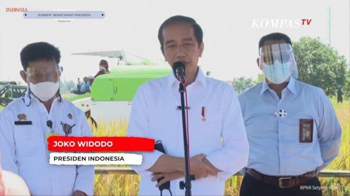 Di Depan Petani, Jokowi Beri Penjelasan soal Isu Impor Beras, Langsung Disambut Tepuk Tangan