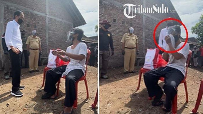 Momen Presiden Bertemu Pria yang Miliki Nama Joko Widodo: Ternyata Kembar Namanya