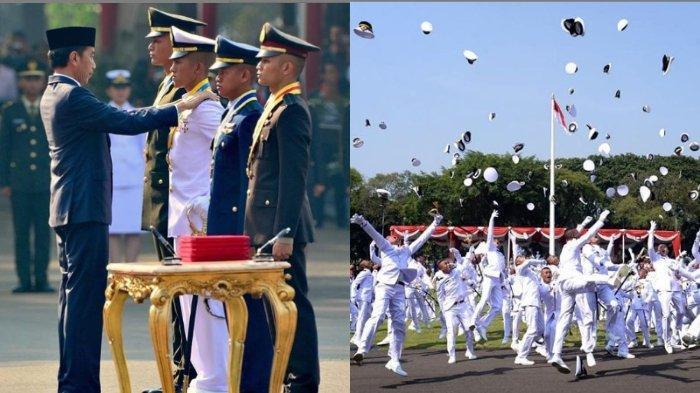 Melantik Perwira TNI dan Polri di Istana Merdeka Jakarta, Jokowi: Tantangan Besar Ada di Depan Mata