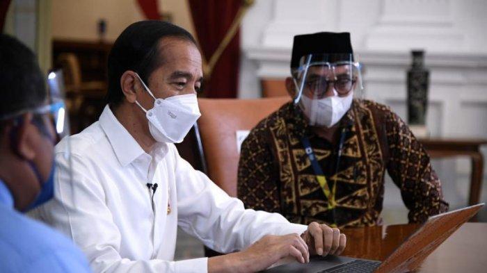 Ilustrasi - Jokowi akan melakukan reshuffle menteri di pertengahan April 2021.