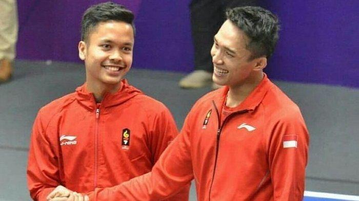 Update Ranking Kualifikasi Olympic 2020: Ginting Salip Jonatan, Minions dan Daddies Sulit Terkejar