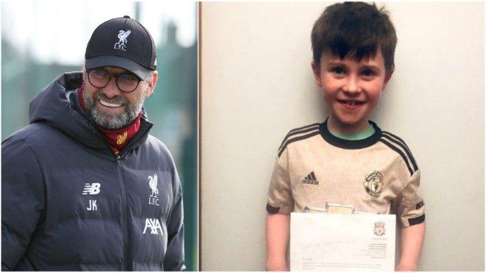 Tulis Surat Permintaan Agar Liverpool 'Kalah', Fans Cilik Manchester United Diundang ke Old Trafford