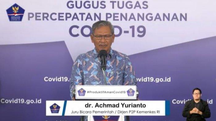 Dijuluki 'Pembawa Berita Kematian', Achmad Yurianto: Terima Kasih untuk Julukan Tersebut