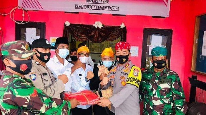 Resmikan Dua Kampung Tangguh, Wabup Sigi Ajak Masyarakat Kalahkan Pandemi COVID-19