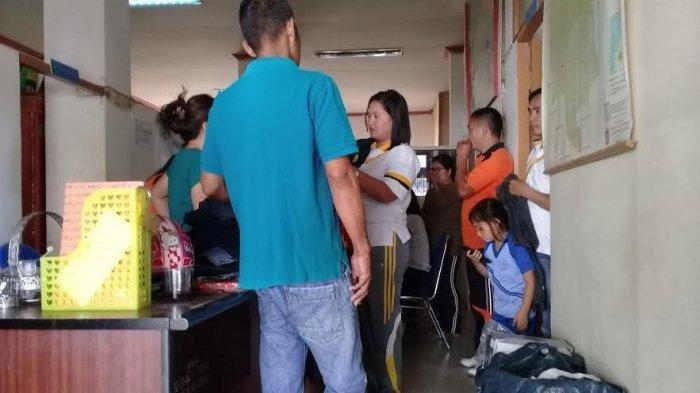 Masih Jam Kantor, Kantor Dinas Ketahana Pangan Kabupaten Mamasa Mendadak Jadi Pasar