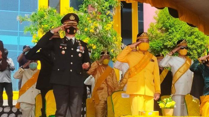 Doa Kapolres di HUT Ke-22 Kabupaten Buol: Semoga Negeri Pogogul Semakin Maju