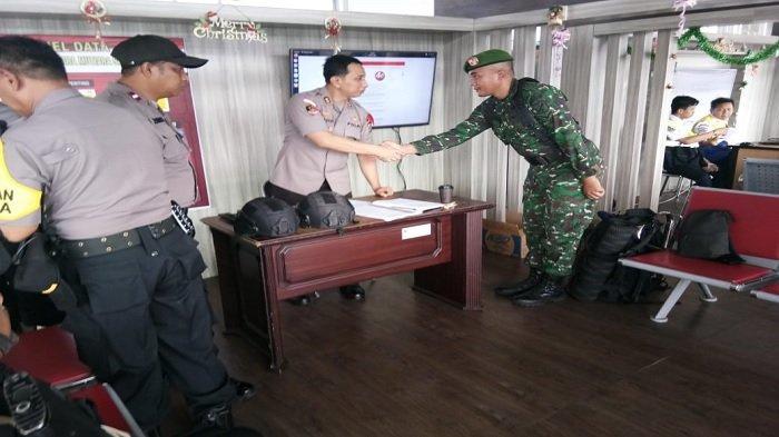 Sebanyak 550 Personel Gabungan Dikerahkan untuk Pengamanan Natal dan Tahun Baru di Kota Palu
