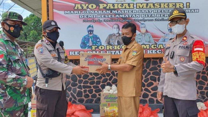 40 Paket Bansos Polri Disalurkan di 4 Kelurahan Palu Utara
