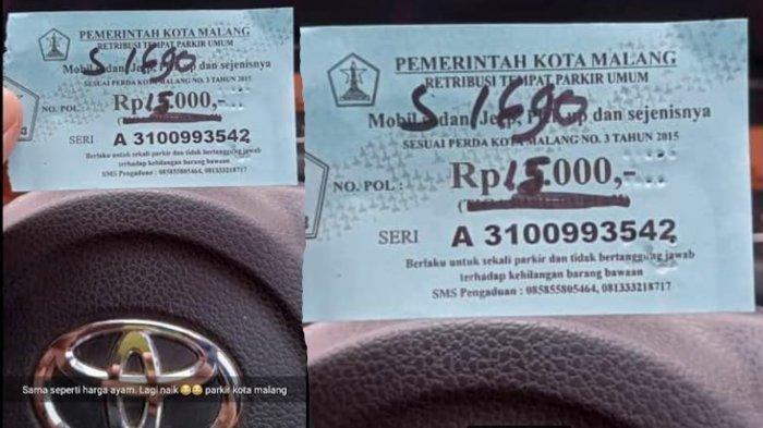 Viral Peserta Tes CPNS 2021 di Kota Malang Diminta Uang Parkir Rp 15 Ribu