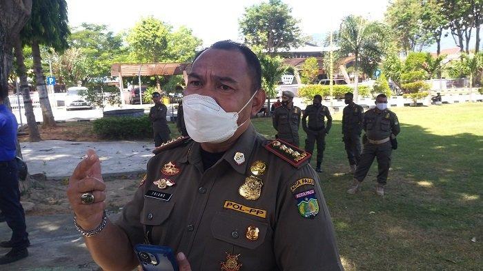 Kasatpol PP Kota Palu Trisno Yunianto