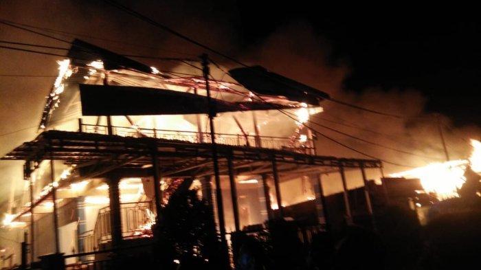 Pasca-kebakaran di Baolan, Pemkab Tolitoli Tetapkan Masa Tanggap Darurat Sampai 16 Februari 2020