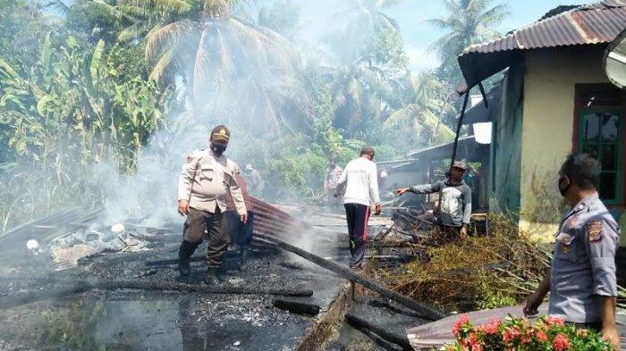 Pemilik Goreng Ikan Lalu Pergi, Api Lalap Rumah di Toili Banggai