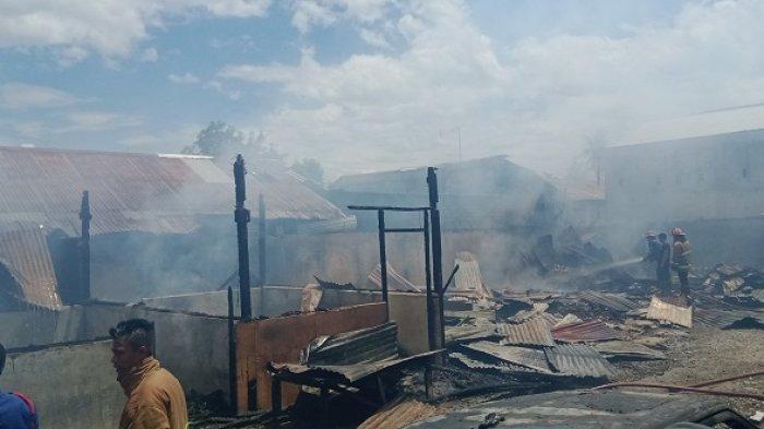 Ini Kronologis 9 Petak Kos Ludes Terbakar di Jl Sungai Manonda Palu