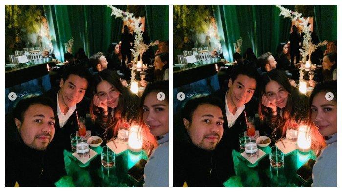 Reaksi Adik Syahrini saat Lihat Raffi Ahmad Posting Foto Kebersamaan Luna Maya dan Ryochin