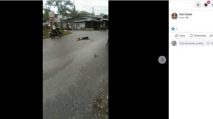 Kronologi Lakalantas di Jl Dewi Sartika Palu, Pria asal Tolitoli Luka di Kepala dan Tewas di Tempat