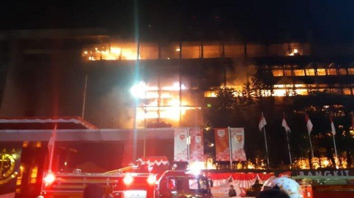 Kerugian akibat Kebakaran Gedung Kejaksaan Agung Capai Rp 1,1 Triliun