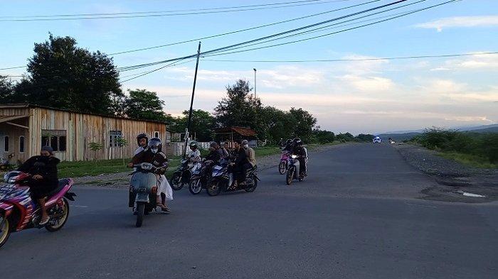 Sempat Terjadi Aksi Kejar-kejaran, Polisi Bubarkan Kumpulan Pengendara di Jl Huntap Tondo l