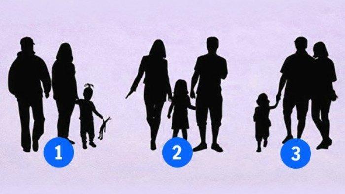 Tes Kepribadian: Perhatikan Baik-baik, Mana yang Keluarga Palsu? Pilihanmu Bakal Ungkap Karaktermu
