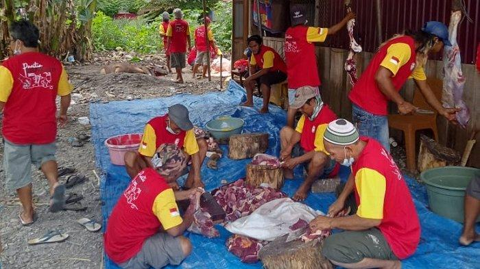 Kelurahan Nunu Qurban 52 Ekor Sapi dan 4 Ekor Kambing