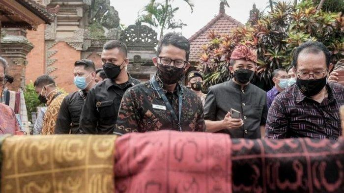 Dampak Pandemi pada Perekonomian Bali, Sandiaga Uno Ajak Pengusaha dan Profesional 'Work from Bali'