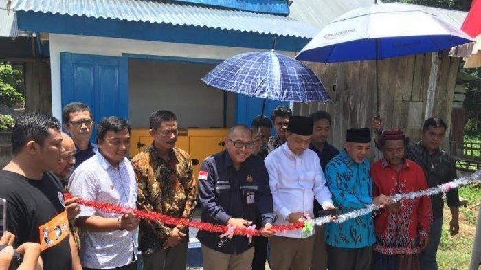 Kementerian ESDM Menyerahkan Empat Unit Sumur untuk Warga Bantaeng, Sulawesi Selatan