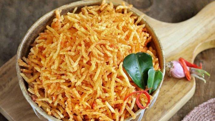 Aneka Resep Lauk yang Cocok untuk Makan Siang: Kentang dan Kering Usus Mustofa