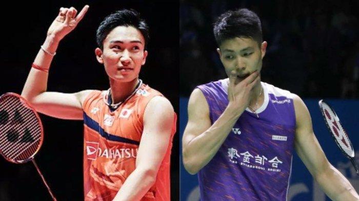 Update Ranking BWF Pekan ke-7: Kento Momota Bakal Absen, Peluang Chou Tien Chen Menyusul Masih Sulit