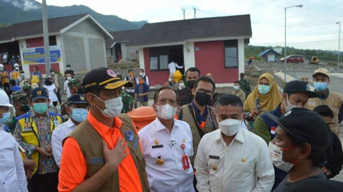 Kepala BNPB: Pembangunan Huntap Korban Bencana Sulteng Harusnya Sudah Tuntas