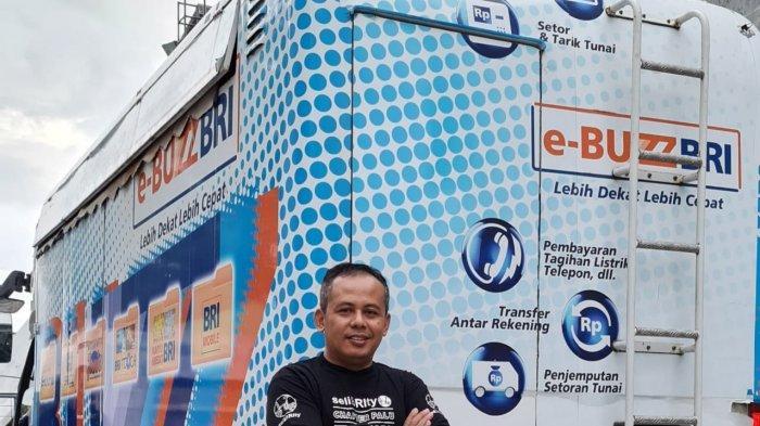 Kepala Pimpinan Cabang BRI Palu Ekwan Darmawan