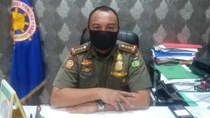 Tolak Penertiban, Pedagang Serang Petugas Satpol PP di Jl Cempedak Palu