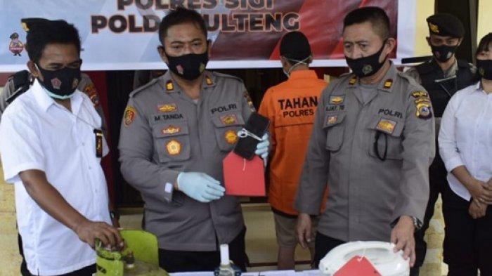 Dua Warga di Sigi Nekat Bobol Rumah-Kios Lalu Curi Tabung Gas, Kaligrafi dan Handphone