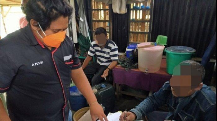 Jaga Kamtibmas Jelang Ramadhan, Warga Pedagang Miras Oplosan Cap Tikus di Sigi Diciduk Polisi