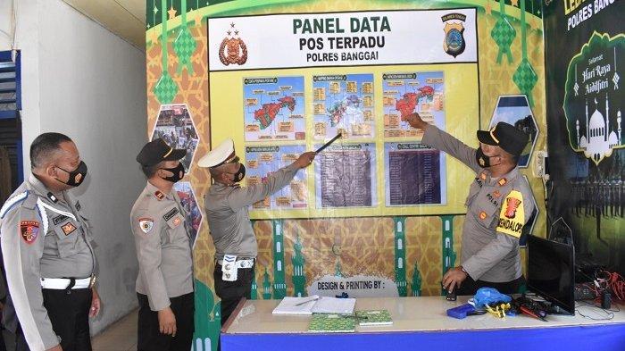 Berikut Lokasi Pos Pengamanan dan Pos Pelayanan Operasi Ketupat 2021 di Banggai