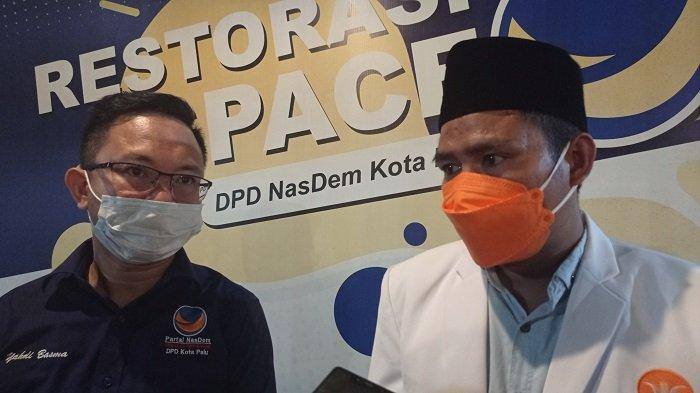 Pimpinan Nasdem dan PKS Palu Bertemu, Bahas Penanggulangan Bencana dan Kebersihan Kota Palu