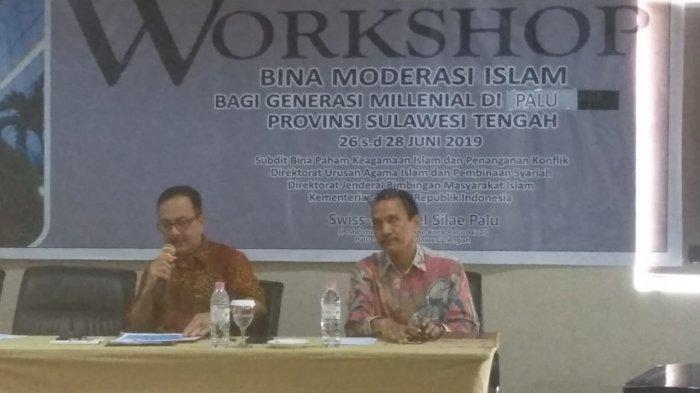 Forum Kerukunan Umat Beragama Sulteng Sebut Perlu Pemahaman Moderasi Islam Terhadap Millenial