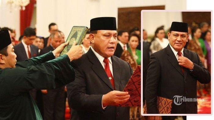 Pidato Pertama Jadi Ketua KPK, Firli Bahuri Sebut Ingin Naikkan Gaji Pegawai KPK