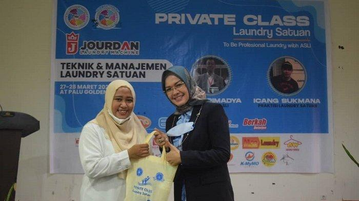 Bangkitkan UMKM di Tengah Masa Pandemi Covid-19, Pemerintah Kota Palu Gelar Pelatihan Laundry