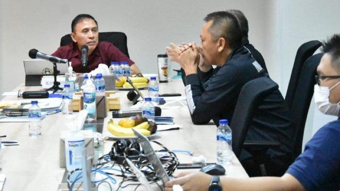Ketum PSSI Mochamad Iriawan dan PT LIB Matangkan Rencana Kelanjutan Liga 2 Musim Ini