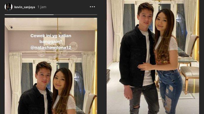 Langsung Hapus Foto Mesranya bareng Natasha Wilona, Kevin Sanjaya Update IG Story dengan Kalimat Ini