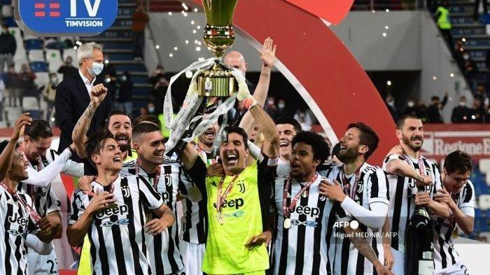 Hasil Coppa Italia - Kandaskan Atalanta, Juventus Raih Gelar Juara Pertama Bersama Andrea Pirlo